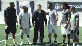 Michael Irvin and Steve Mariucci get INTENSE with wide receivers!