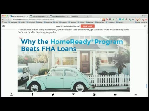 LIVE: Learn About the HomeReady Program from FannieMae