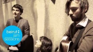 Beirut Jam Sessions - We Were Evergreen - Nightcall  (Kavinsky cover)