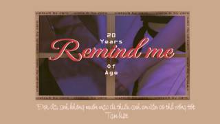 Gambar cover [VIETSUB] REMIND ME _ 20 Years Of Age