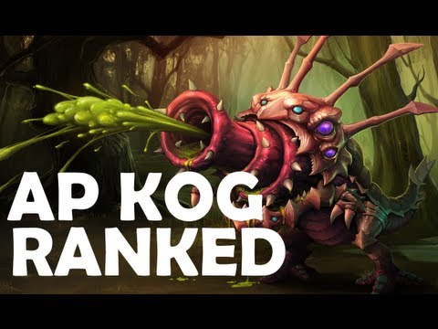 AP Kog'Maw Ranked Gameplay [Screen Record] (Highlights in De
