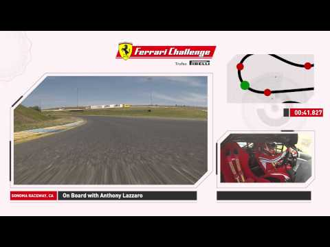 A lap at the Sonoma Raceway with Anthony Lazzaro