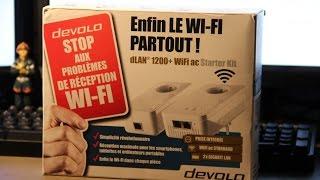Présentation et Installation des CPL DEVOLO dLAN 1200+ WiFi ac [FR]