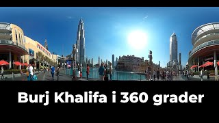 Burj Khalifa Dubai 360video VR