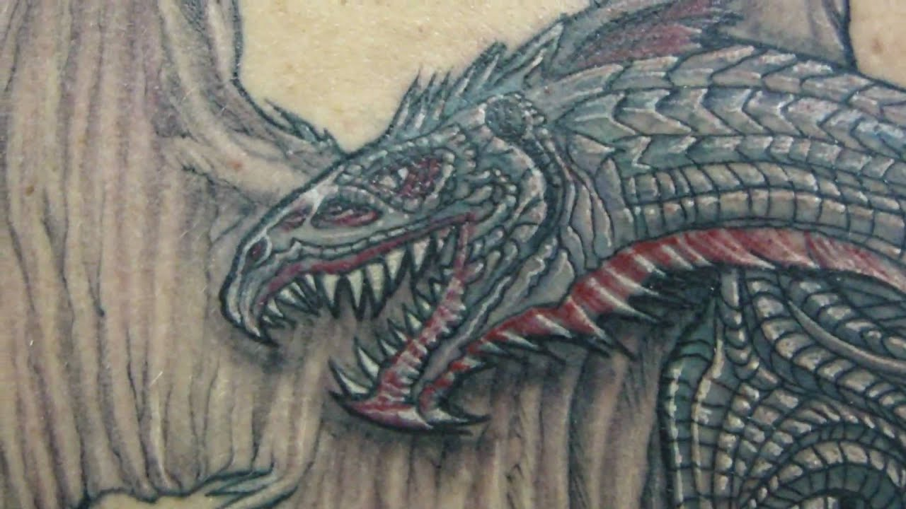 Medieval Dragon Tattoo Designs