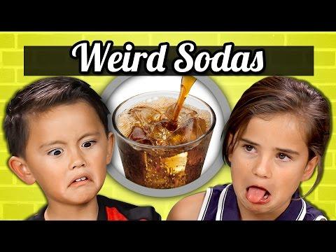 KIDS vs. FOOD - WEIRD SODAS