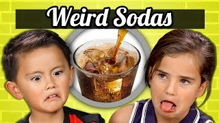 KIDS vs. FOOD - WEIRD SODAS
