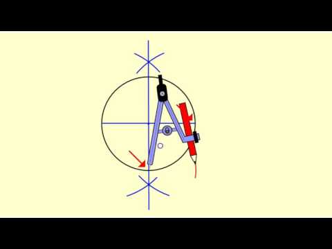 Circumscribe a Square Around a Circle