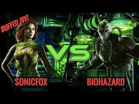 SONICFOX PLAYS BUFFED POISON IVY! SonicFox vs Biohazard!