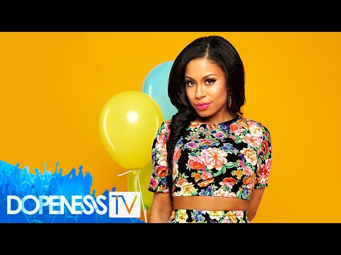 Keshia Chanté: She's Bursting Out Dopeness Magazine Cover Shoot