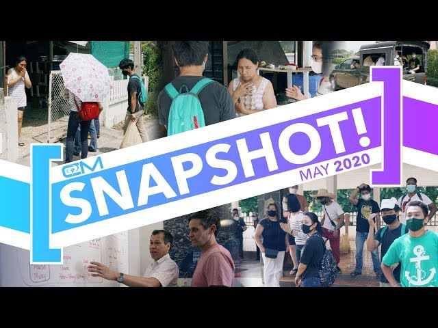 Snapshot / May 2020 / Food Drive Update, Lady Sees Jesus, Ready to Launch!