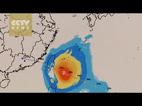 Typhoon Megi expected to make landfall on east China Wednesday