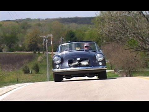 The MGA V8 We go for a ride  Killer sound! DRIVE!