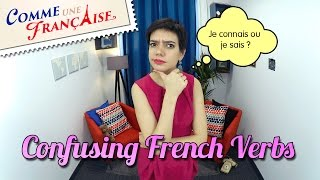 4 x 2 Confusing French Verbs That You Won't Mix Up Anymore