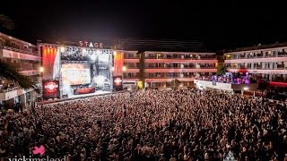 Hardwell Live at BH Mallorca Stage 14/07/2016