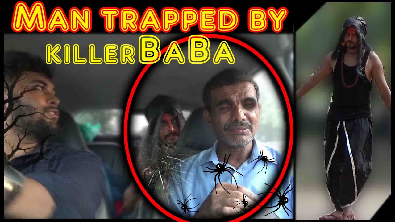Man got trapped by killer Baba in car | Scare Pranks in India 2016 | Unglibaaz