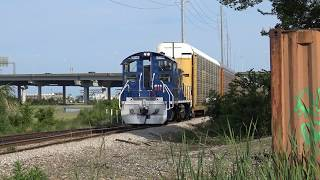 Some Serious Train Chasing on the Charleston Terminal