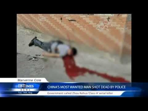 China's most wanted man shot dead by police