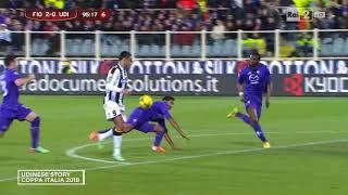 Udinese story - Coppa Italia 001 (2018/19)