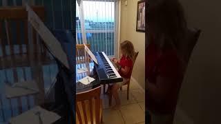 Hannah plays Happy birthday to Mommy thumbnail