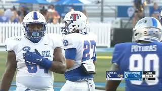 2019 NCAA Football: Tennessee State vs  Middle Tennessee
