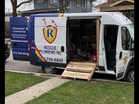 Hydro Jetting Sewer Lines. Emergency Plumbing Services Chicago, IL. Rescue Plumbing.