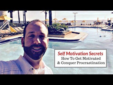 Self Motivation Secrets | How To Get Motivated & Conquer Procrastination