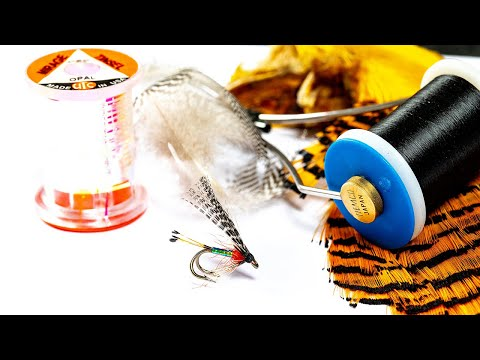 Pearly Peter Ross Fly. Sea Trout And Lake Fly Fishing Pattern. River Till, Northumberland.