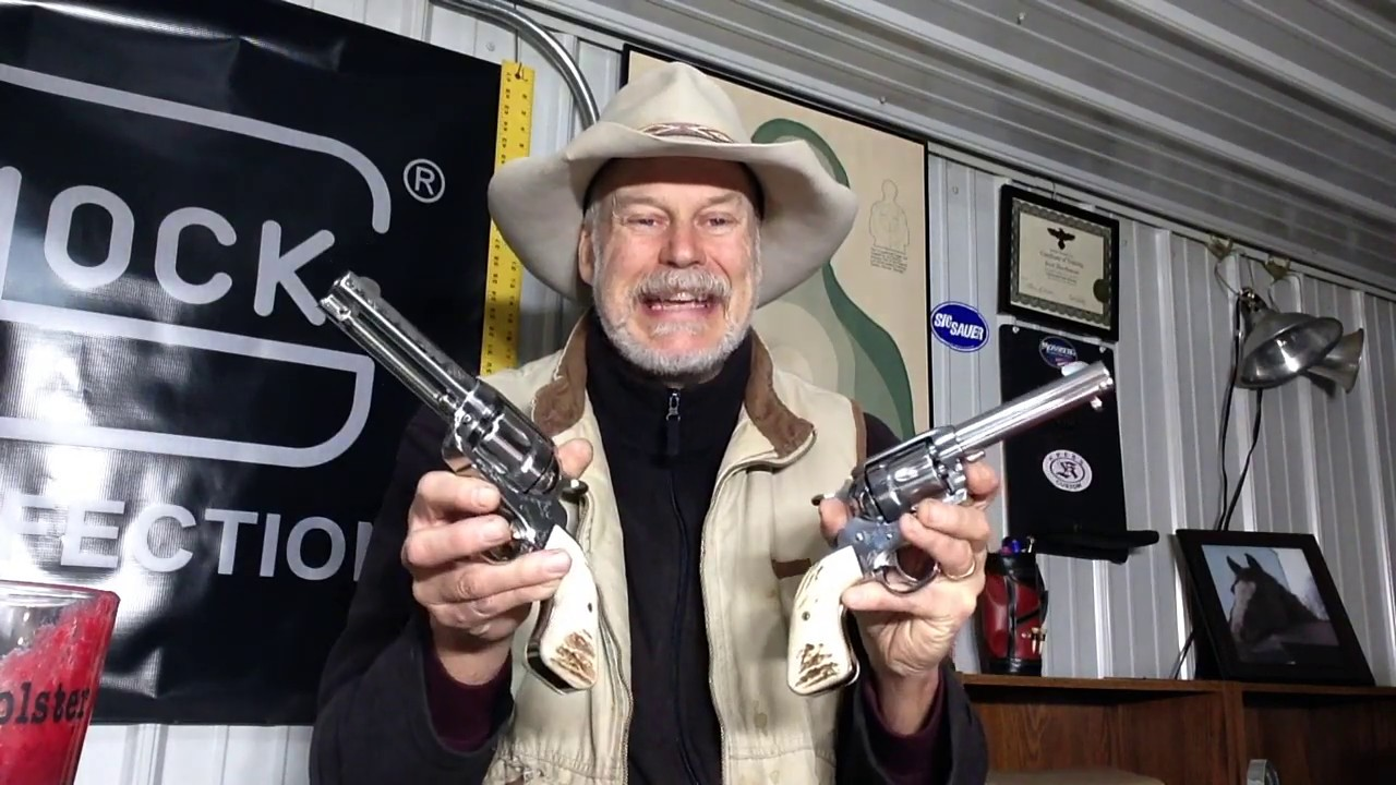 The Brace of Ruger Vaqueros