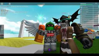 Playing roblox with awesome subs and my friends and F_F! on skype and trading!!!!!! with alaha kabar