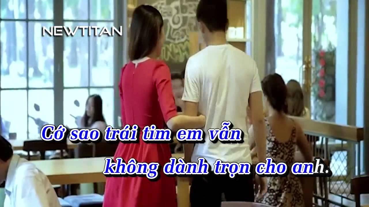 Karaoke Một tình yêu đúng nghĩa remix - Hồ Quang Hiếu
