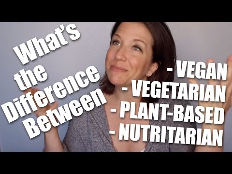 Whats the Difference Between Vegan, Vegetarian, Plant-Based and Nutritarian?