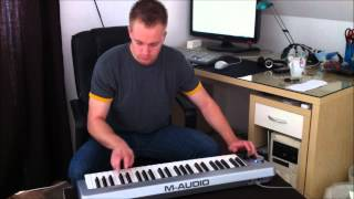 Terror Squad / Fat Joe - Lean Back (Piano Keyboard Cover Short)