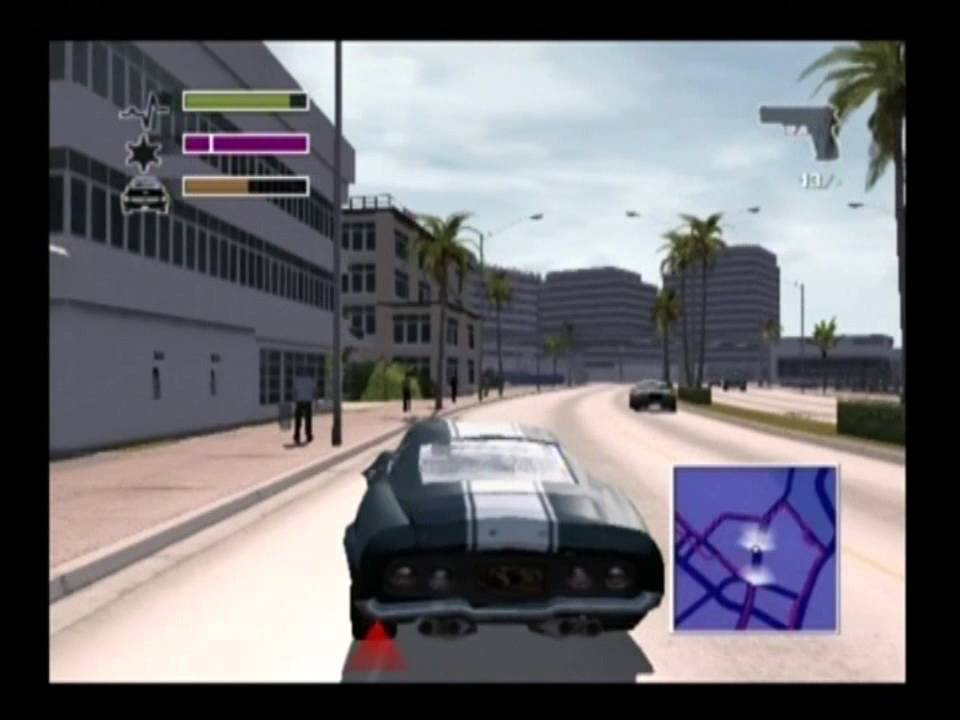 Driver 3 Take A Ride Miami Gameplay PS2