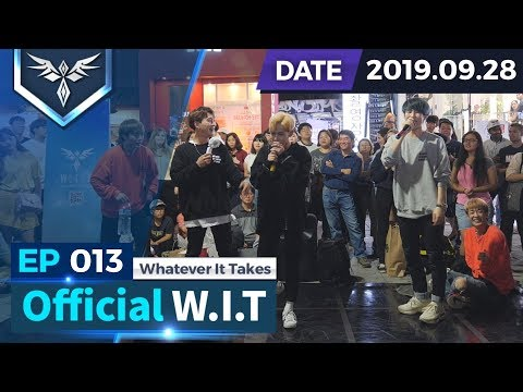 EP013 | Official W.I.T | 홍대 버스킹 | 190928