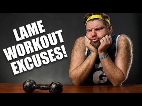Top 5 Weak Excuses To Not Workout (Stop Lying To Yourself)