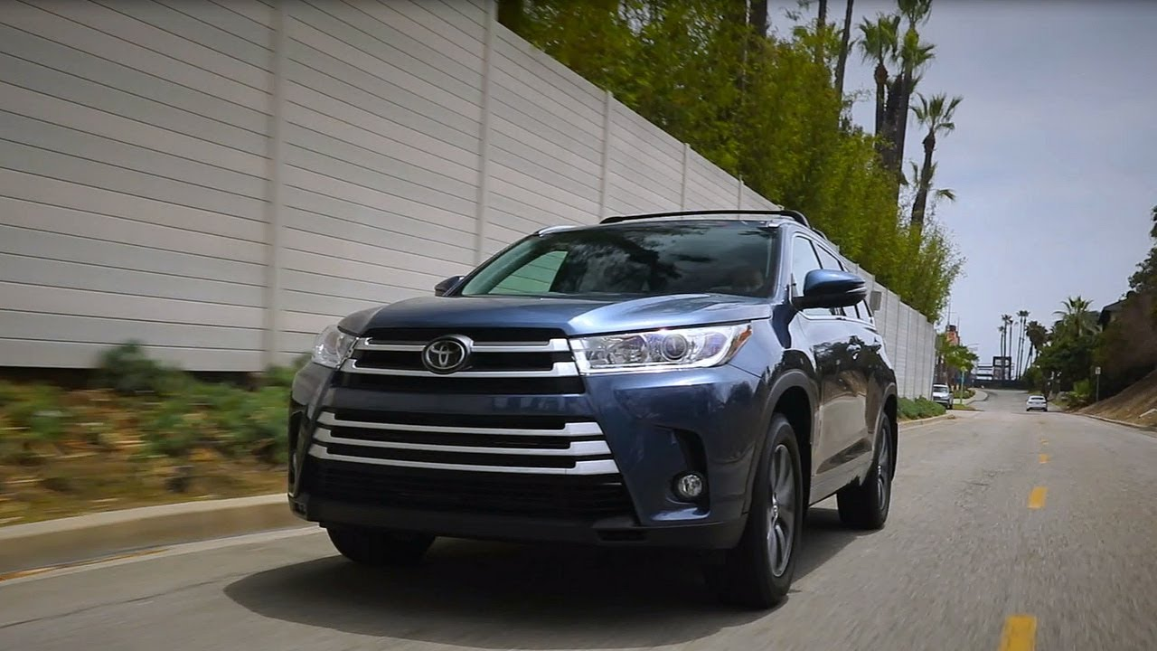 2017 Toyota Highlander Review And Road Test Youtube