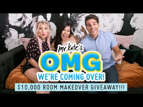 $10,000 Room Transformation Giveaway!! | OMG We're Coming Ov