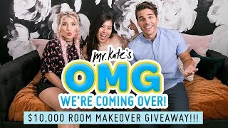 $10,000 Room Transformation Giveaway!! | OMG We