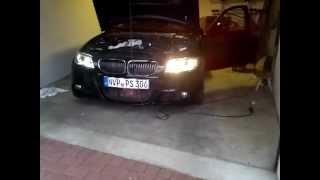 H8 Brenner für BMW mit 4x 5W Cree LED, Raute, Angel Eyes 1er, 3er, Einbau Montage 2.