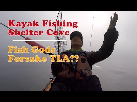 Kayak Fishing Shelter Cove 2020 | Covid -19 Pandemic Fishing