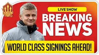 Woodward Promises World Class Signings! Man Utd News