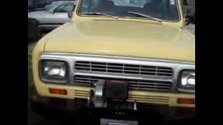 1980 INTERNATIONAL SCOUT II - LAST YEAR OF PRODUCTION