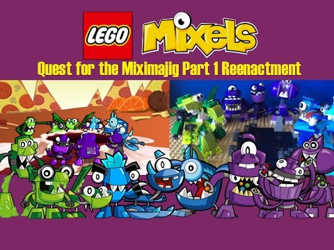 Lego Mixels - Quest for the Miximajig Part 1 Re-Enactment