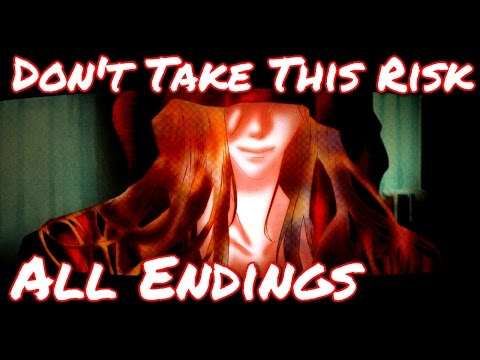 Don't Take This Risk - I can just eat you...( All Endings ) Manly Let's Play