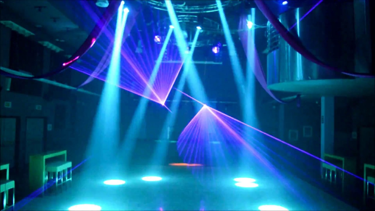 club light show david howard lighting design youtube