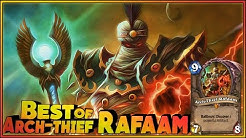 Hearthstone Best of Arch-Thief Rafaam - Funny and lucky Rng Moments