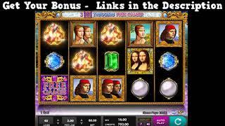 Double Da Vinci Diamonds Slot - Play 2000+ Free Casino Slots - 50 Free Spins + 300% Slots Bonus
