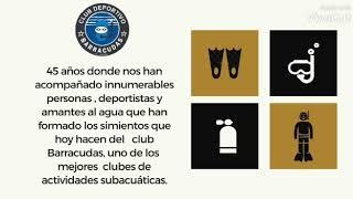 45 AÑOS DE HITORIA   CUMPLEAÑOS CLUB BARRACUDAS