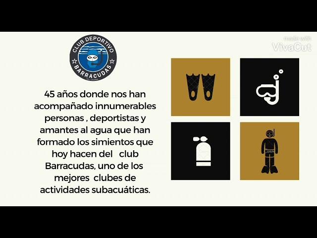 45 AÑOS DE HISTORIA DEPORTIVA - CUMPLEAÑOS DEL CLUB BARRACUDAS